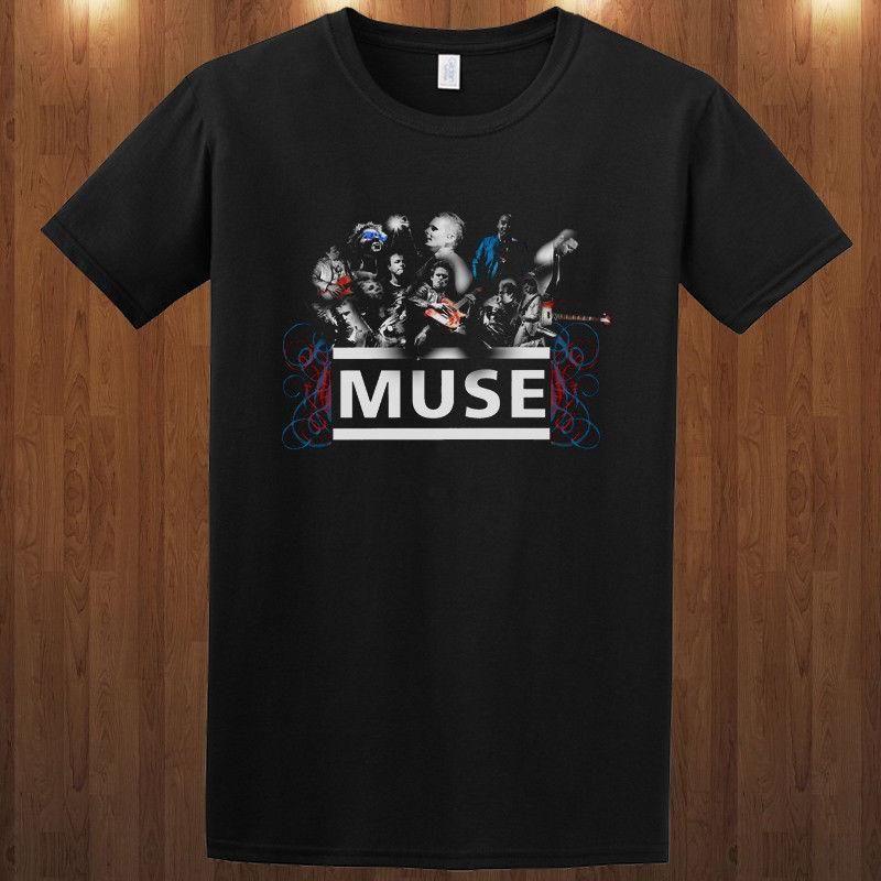 02d47146 Muse Tee Alternative Rock Band S M L XL 2XL 3XL T Shirt Matt Bellamy Funniest  T Shirt Comical T Shirts From Amesion71, $12.08| DHgate.Com
