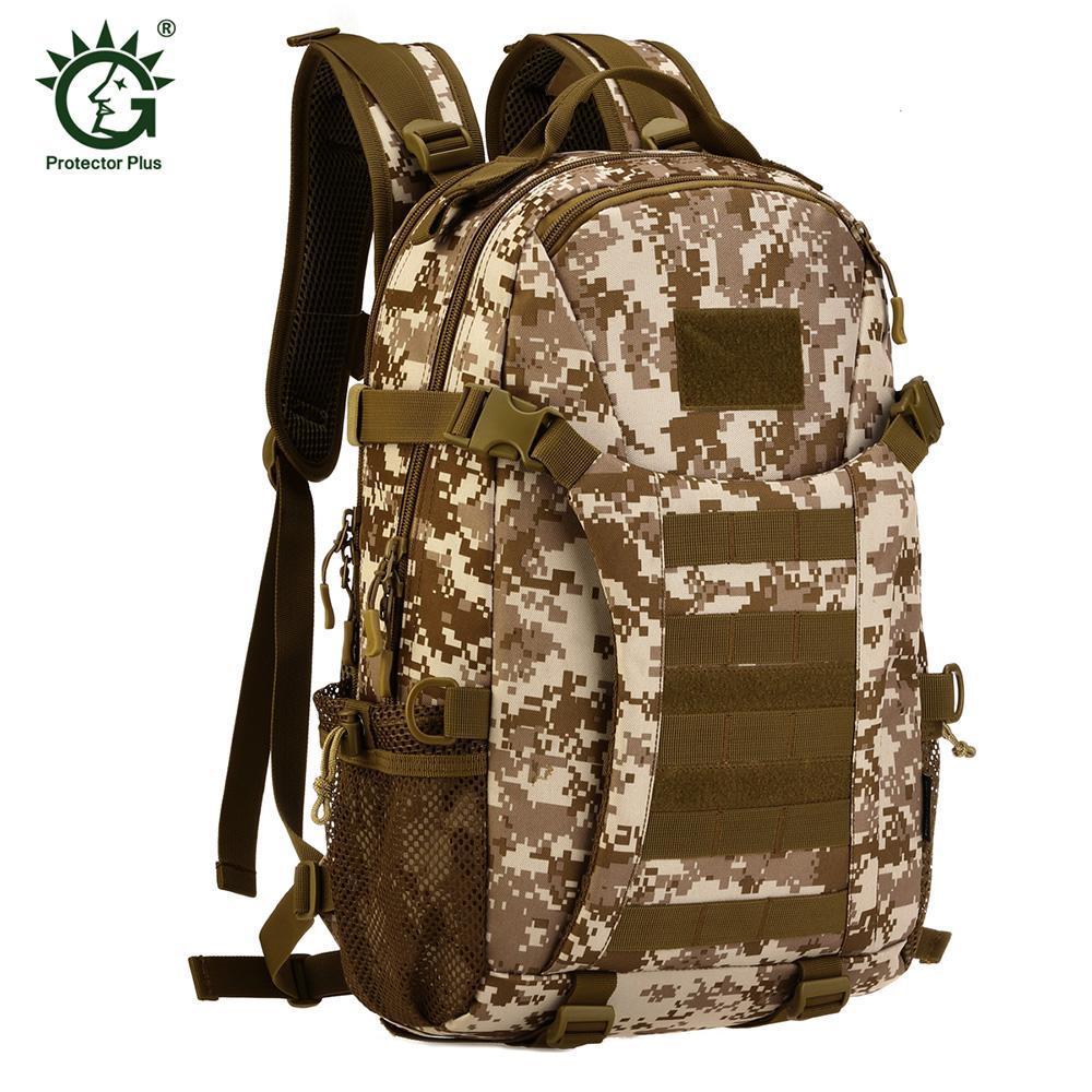 bd211f3ad782 Protector Plus Tactical Waterproof Outdoor Bag Adjustable Backpack ...