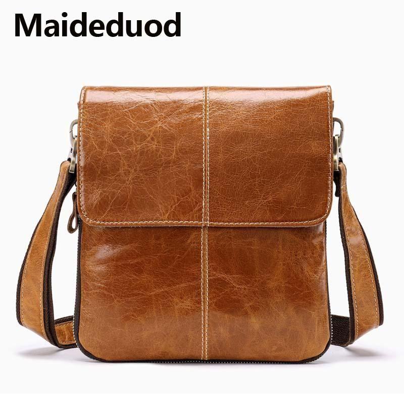 b16cdf620c High Quality New Genuine Leather Messenger Bag Men Shoulder Bag Small Male  Man Crossbody Bags For Messenger Men Leather Bag Handbag 8006 Leather  Briefcase ...