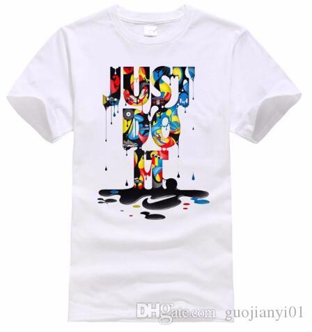 b661c2e7a4bb8 2019 2018 New Fashion Just Do It Camiseta Marca Ropa Hip Hop Carta Imprimir  Hombres Camiseta Anime Manga Corta Camiseta De Alta Calidad Hombres From ...