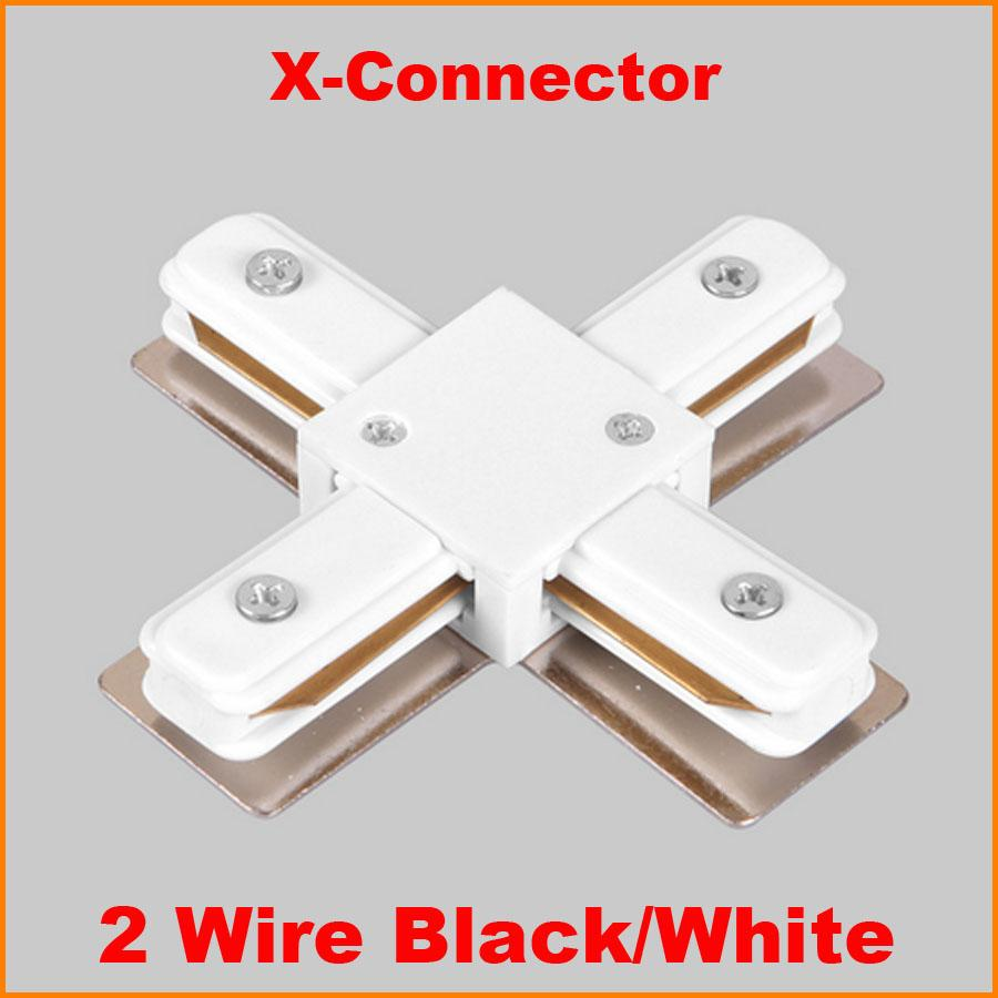 2018 2 wire phase led track light rail connector track lighting 2018 2 wire phase led track light rail connector track lighting fitting x rail connector aluminum accessories black white from burty 3592 dhgate mozeypictures Image collections