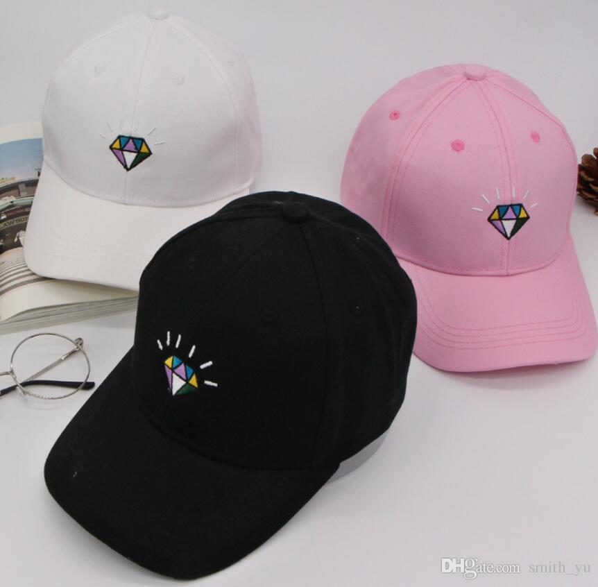Fashion Diamond Supply Block Snapback Caps & Hats Street Snapbacks Snap Back Hip hop Hat Men Women Baseball Cap for Sale