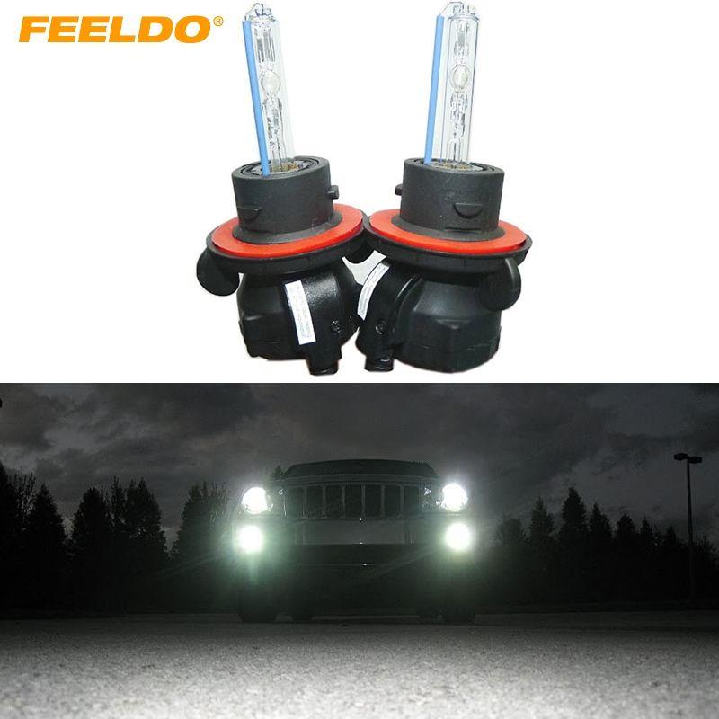 Audi A5 8T 3.0 H11 55w Super White Xenon HID Upgrade Front Fog Light Beam Bulbs