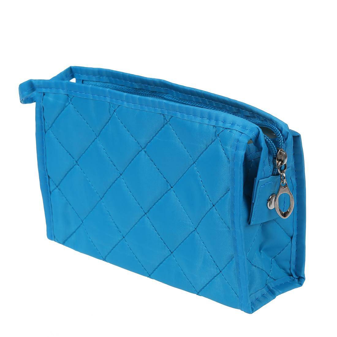 eec4276dc4 Acheter Sac Pochette Maquillage Femme Bleu Rectangle ZipPer De ...