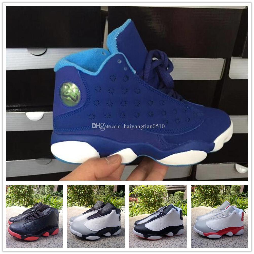 Compre Nike Air Jordan Aj13 13 Zapatillas De Baloncesto Juvenil ... 6cf9edf655e