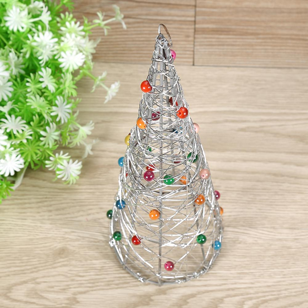 Christmas Iron Wire Tree Home Garden Ornaments Home Decoration ...