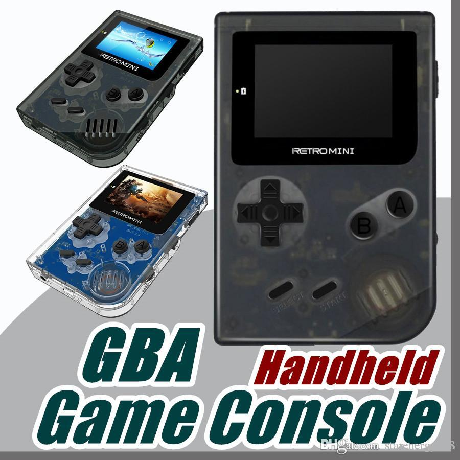 Retro Mini Game Console 32 Bit Portable Players Mini Handheld Game Players  For GBA Classic Games Best Gift For Kids AAA D-ZY