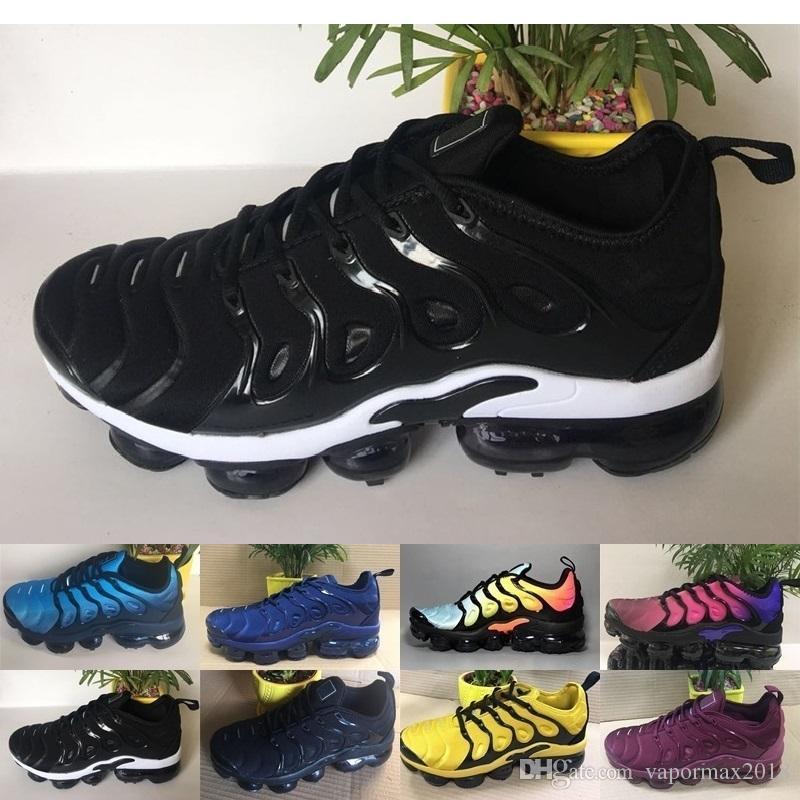 13cf49966a Acheter Brand New Plus Tn Air Chaussures Pour Femmes Noir Blanc Femmes  Chaussures De Sport Rose Bleu Femme Meilleurs Entraîneurs Sportifs Baskets  Tennis ...