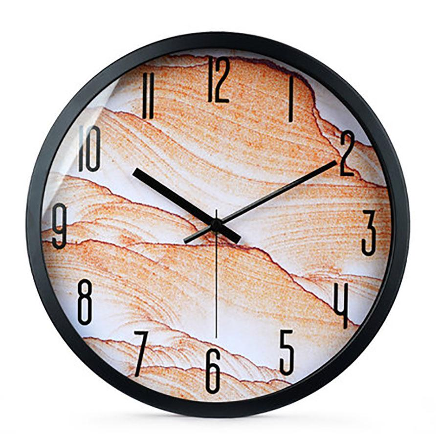 Scenery Living Room Wall Clock Creative Silent Large Decorative Wall