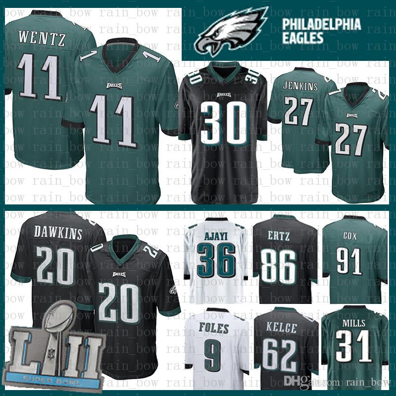 Stitched 11 Carson Wentz Jersey Philadelphia Eagles 20 Brian Dawkins ... 0153be7ad