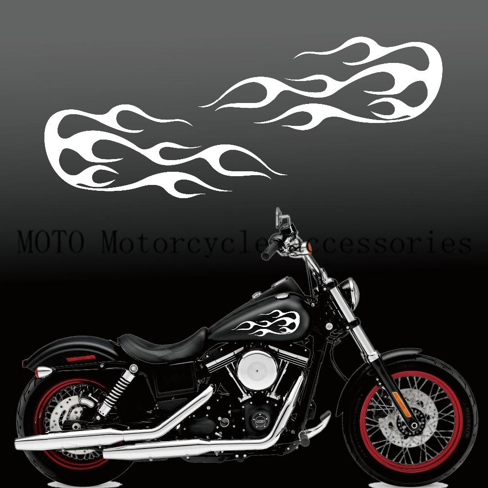 2019 motorcycle decals flame gas tank decal stickers for sporter dyna touring sofitail 13 fuel tank sticker from wondenone 22 32 dhgate com