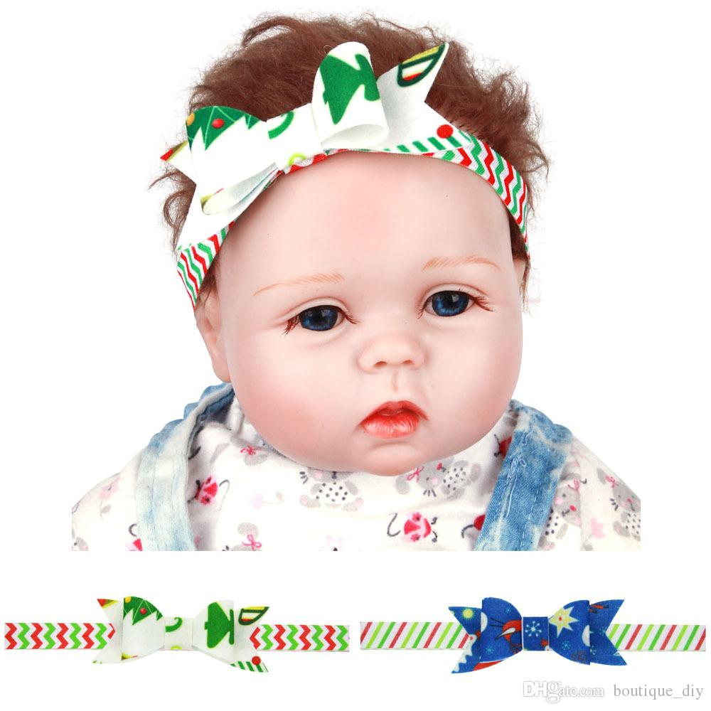 41f0979ba83a62 TOP NEW Christmas Gifts Baby Girls Bowknot Hair Band Party Props HeadBands  Tie Bow Girls Boutique Accessories CB14 Cheap Hair Accessories Toddlers  Hair ...