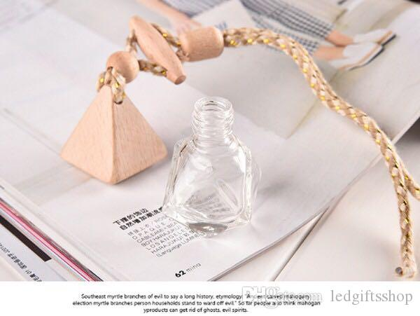 hot Sale Perfume Bottle Glass Diffuser Car Gym Locker Decor Empty Perfuma Bottle in stock