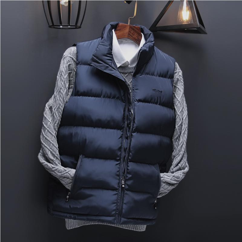 5757e3235c Gilet Uomo Inverno Moda Casual Gilet da uomo Gilet da uomo Inverno maschile  Giacca senza maniche Plus Size 6xl 223