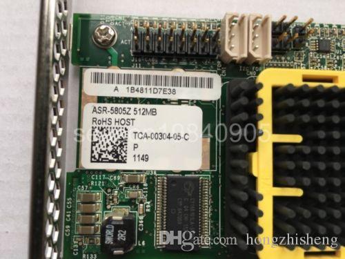 RAID-карта ASR-5805 512 МБ 8 портов SAS SATA Жесткий диск Карта массива 100% проверено идеальное качество