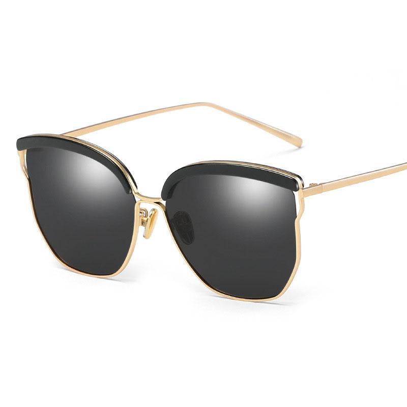 Compre Woemn Diseño De Marca Gafas De Sol Polarizadas Mujeres Clásico Marco  Cuadrado De Conducción Gafas De Sol Mujer Negro Gafas UV400 Gafas De Sol A  ... ab63010ea5b7