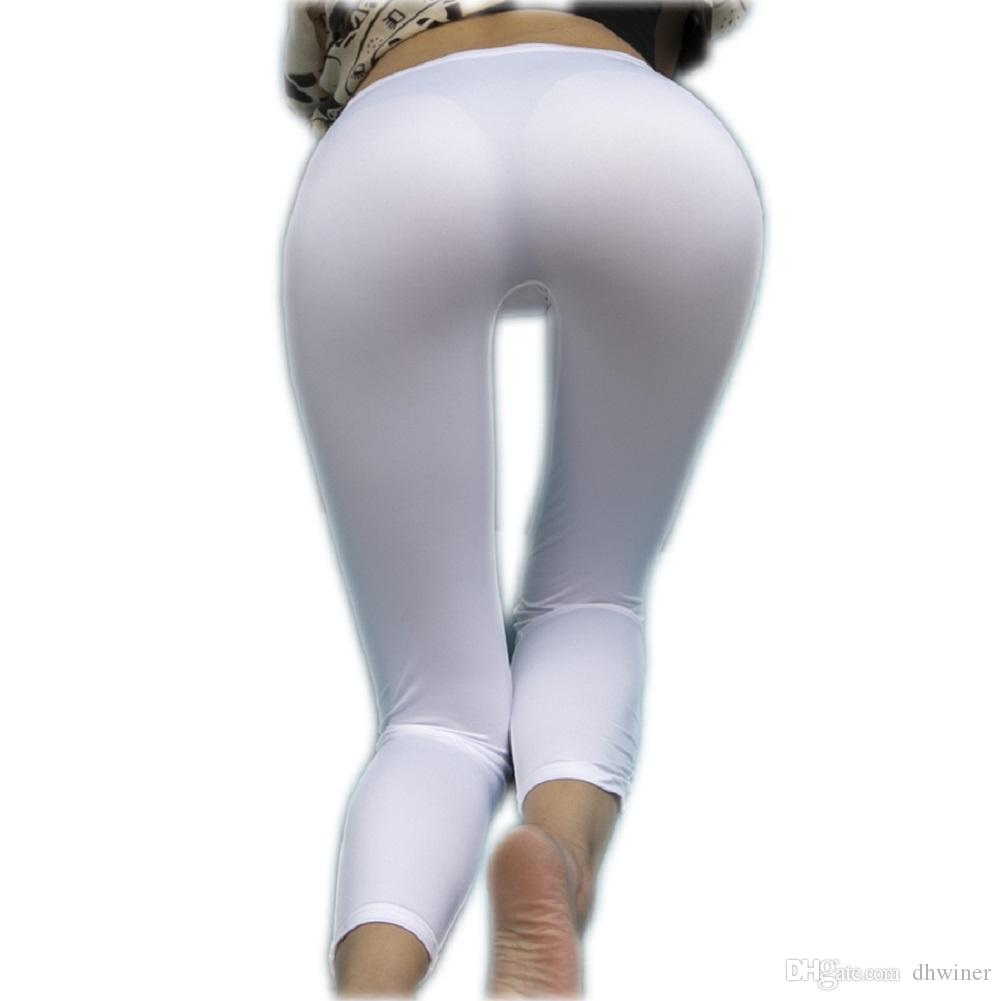 ef95cc4d4ed309 2019 Women Sexy See Through Pencil Pants Transparent One Piece Leggings  From Dhwiner, $14.07 | DHgate.Com