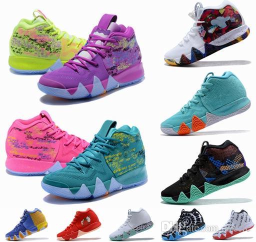 new styles 64327 0a9b6 2018 Nuevos Zapatos Kyrie IV El Poder Es Femenino Irving 4 Hombres Zapatos  De Baloncesto 4s Marca Zapatillas Deportivas Para Hombre Zapatillas De  Deporte ...