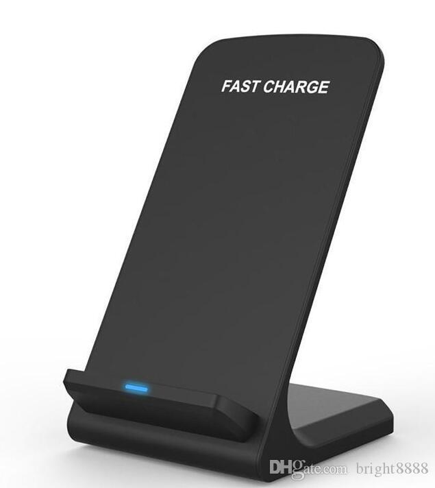 Kablosuz Şarj Qualcomm Quick Charge 2.0 Kablosuz Şarj IPhone 8 8P X Samsung S8 S8Plus S7 S6 Not 8