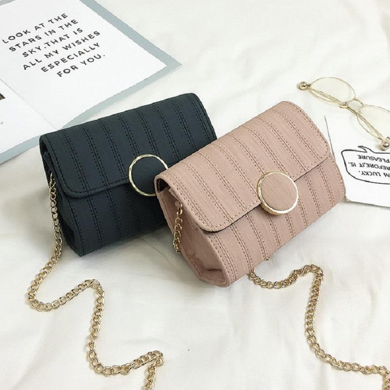 Mini Over Shoulder Bags Women Casual Sling Bags Chains PU Leather Messenger  High Quality Cover And Hasp Leather Bags Crossbody Purses From Lbdshoes 1fe310b38c8e1