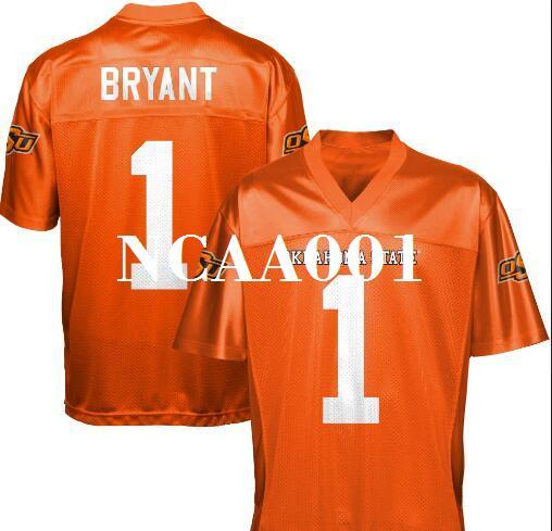 97909fc7d ... clearance 2018 youth cheap 1 dez bryant black orange oklahoma state  cowboys alumni college jersey or