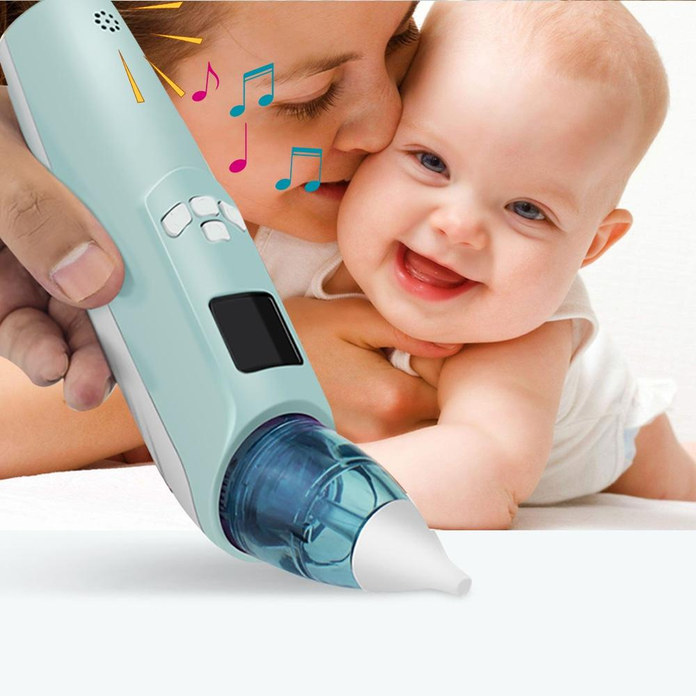 2019 Baby Electric Nasal Aspirator Nose Snot Cleaner Suction Nose