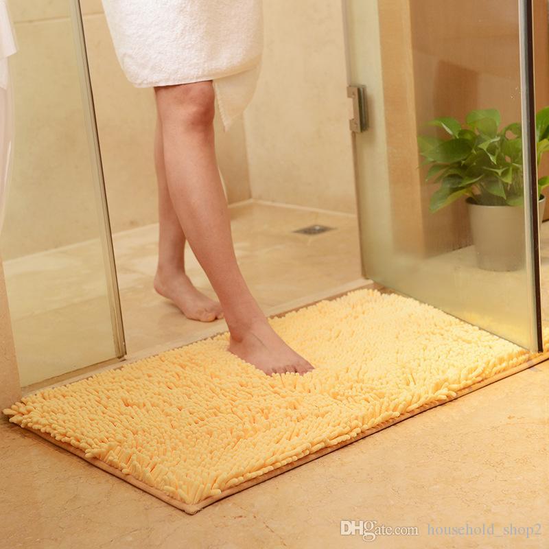 2018 anti slip bath mats Rug Kitchen Rug Door Way Feet Mat Strip Doormat Floor Rug Kitchen Carpet Bath Mats