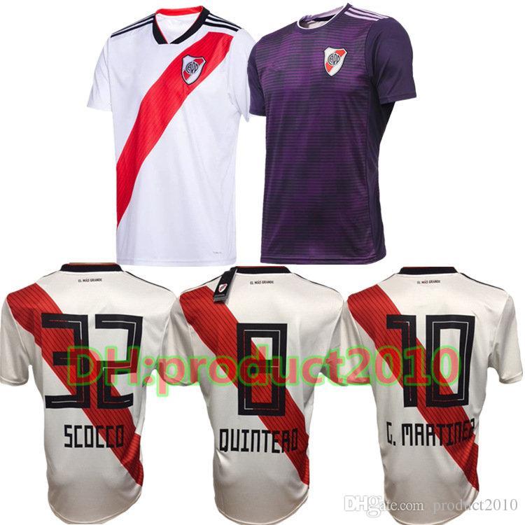++ AAA 2019 Mejor Calidad Argentino Club Atlético River Plate Camiseta De  Fútbol Mora Quintero G.Martinez Ponzio River Plate Hombre Camiseta De Fútbol  Por ... 7197498efbbf3
