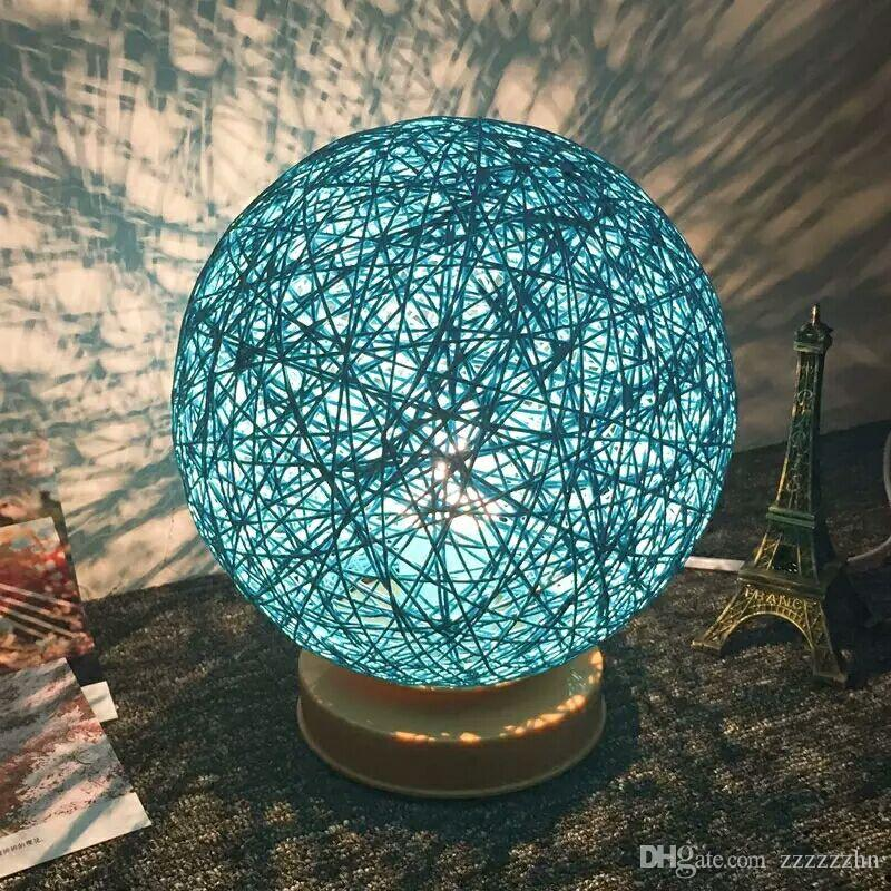 2018 creative jute ball gift lampnew product rattan lamp hand 2018 creative jute ball gift lampnew product rattan lamp hand braided ball lamp shade led lamp decorated with the night creative birthday gi from zzzzzzhn aloadofball Images