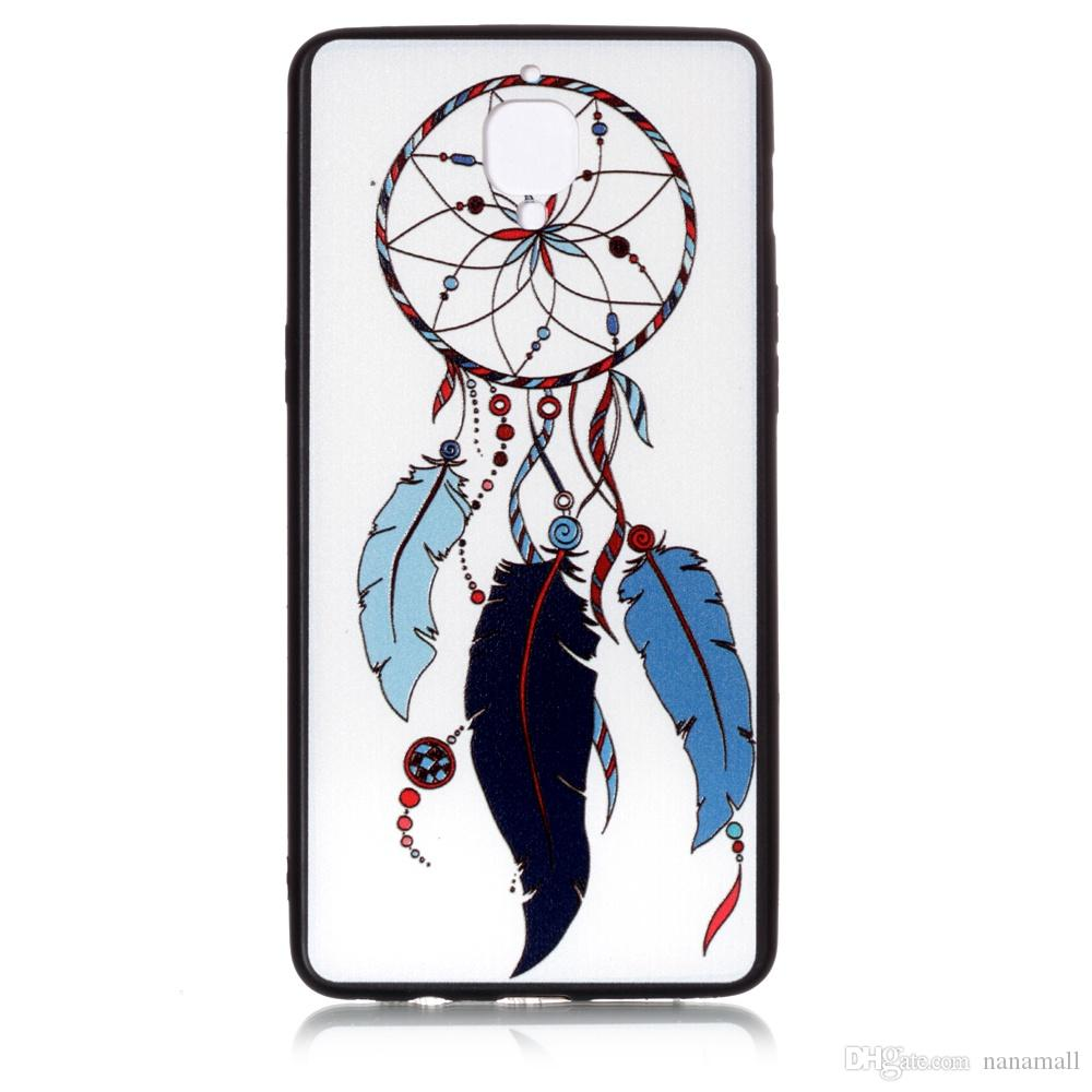 New Arrival soft TPU+PC Painting Case for One Plus Three 1+5 1+3 custom diy fashion girl cat phone case Chinese factory