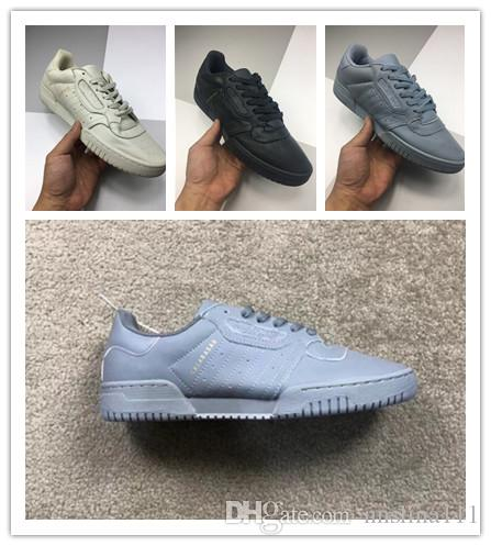 KANYE Powerphase Calabasas Shoes Women Man Sneakers Core Black Beige Gray  Blue  cee56067d