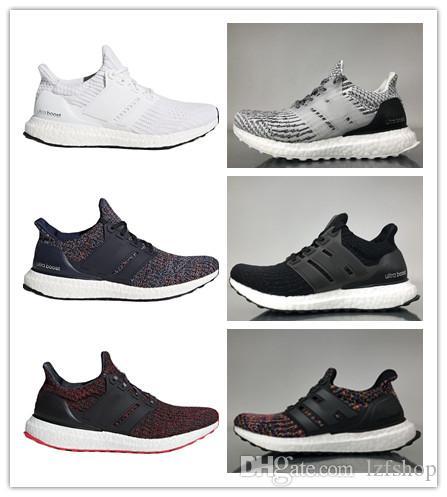 39a9ee940 Cheap 2018 High Quality Ultraboost 3.0 4.0 Running Shoes Men Women Ultra  Boost 3.0 Runs White Black Sports Sneaker