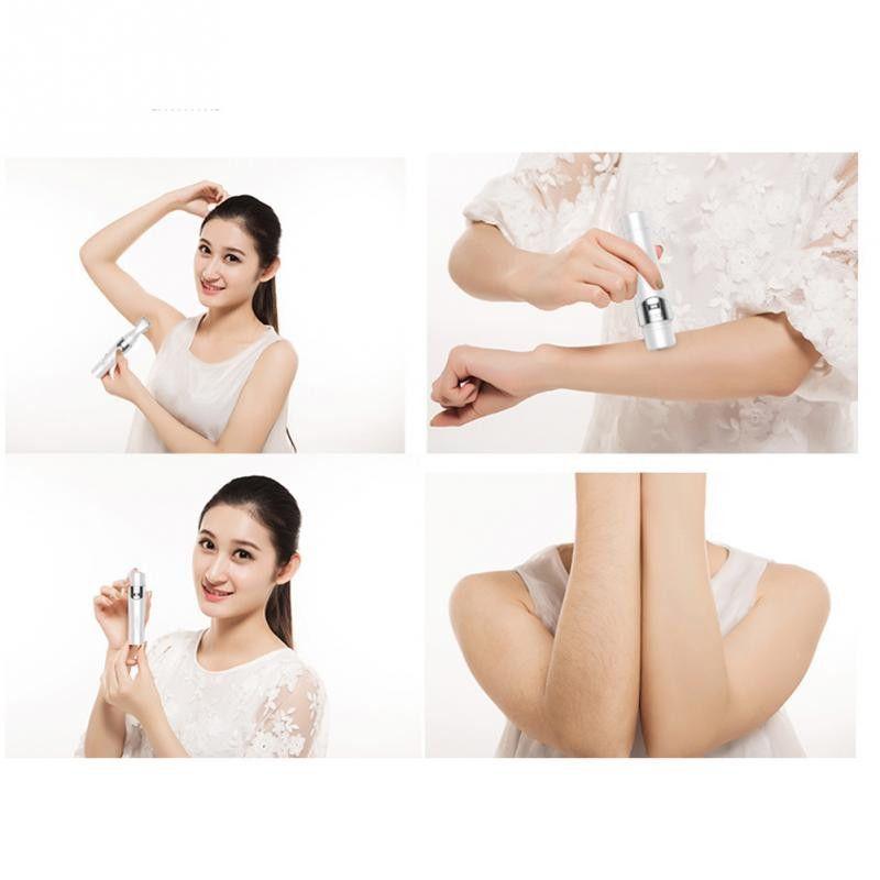 5 En 1 Portátil Depiladora Eléctrica Mujeres Depilación Bikini Máquina de Afeitar Mujeres Shaver Razor Trimmer Facial Cleansing Brush