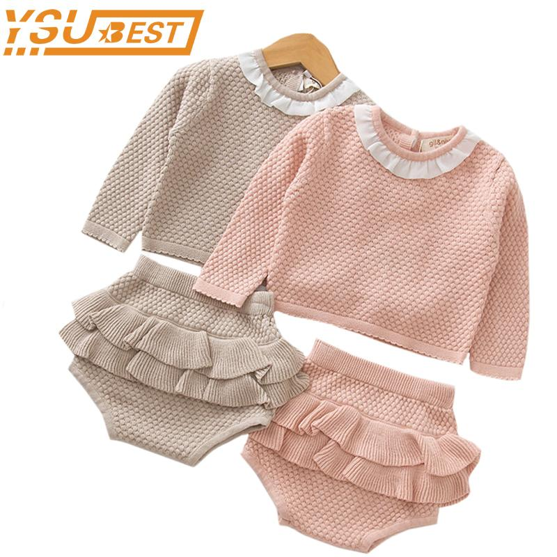 7b346c01d64b 2019 Knitted Newborn Baby Clothes Baby Girls Boys Clothing Set ...