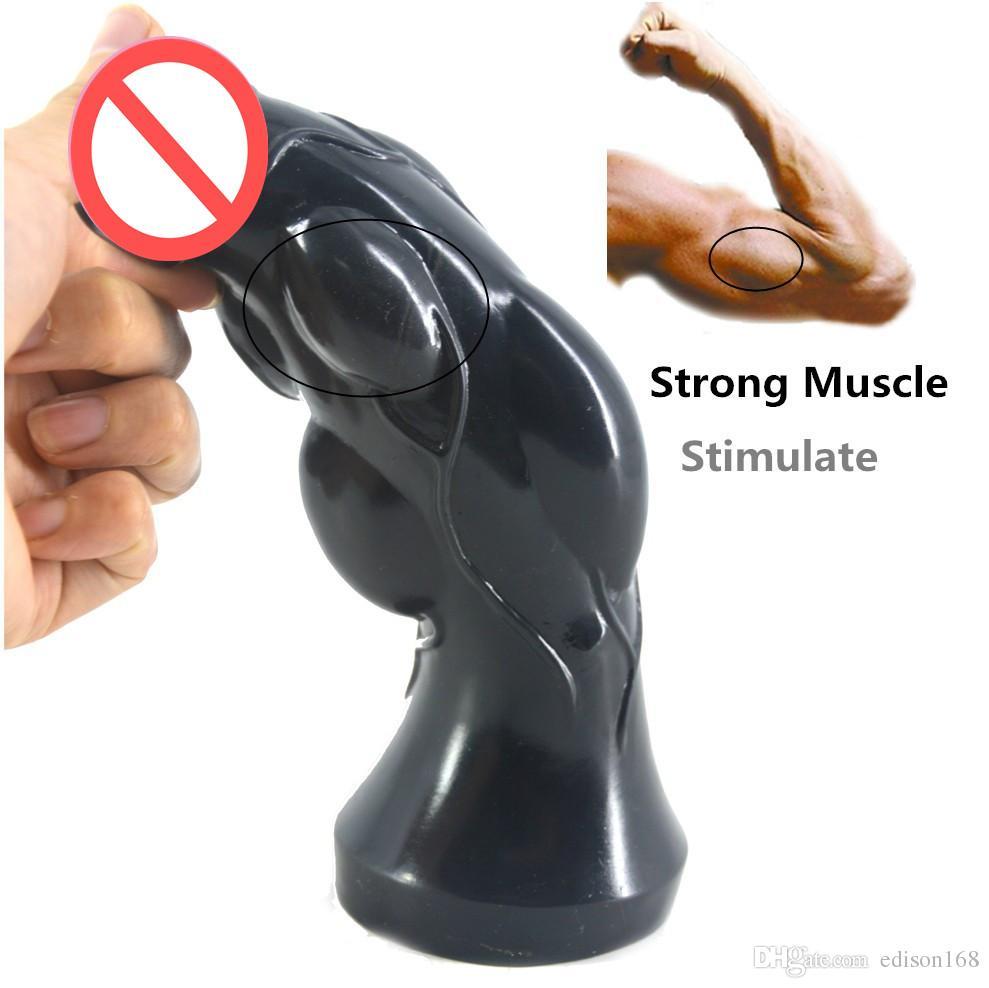 2018 Convex Design Big Dildo Large Anal Plug Butt Anus Expansion Vagina G Spot Stimulate Female Masturbation Adult Sex Toy For Women Men