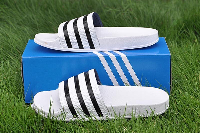 cc0111788133 Designer Slippers Sport Brand Letter Men Summer Rubber Sandals Beach ...