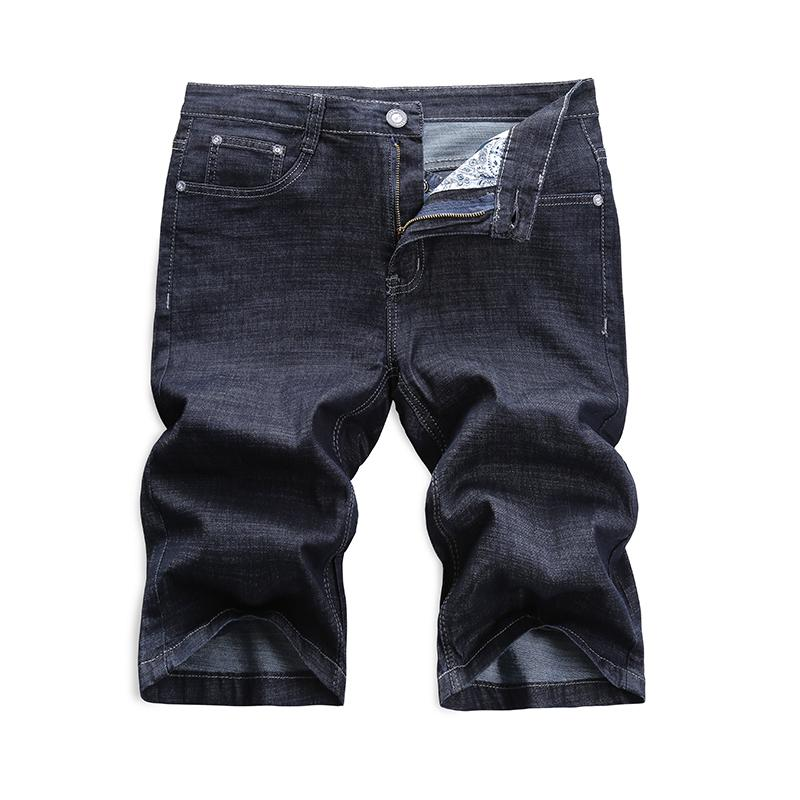 bd08b9f8db Compre Pantalones Cortos De Mezclilla De La Sección Delgada De Verano De La  Marca KXP Pantalones Vaqueros De Los Hombres