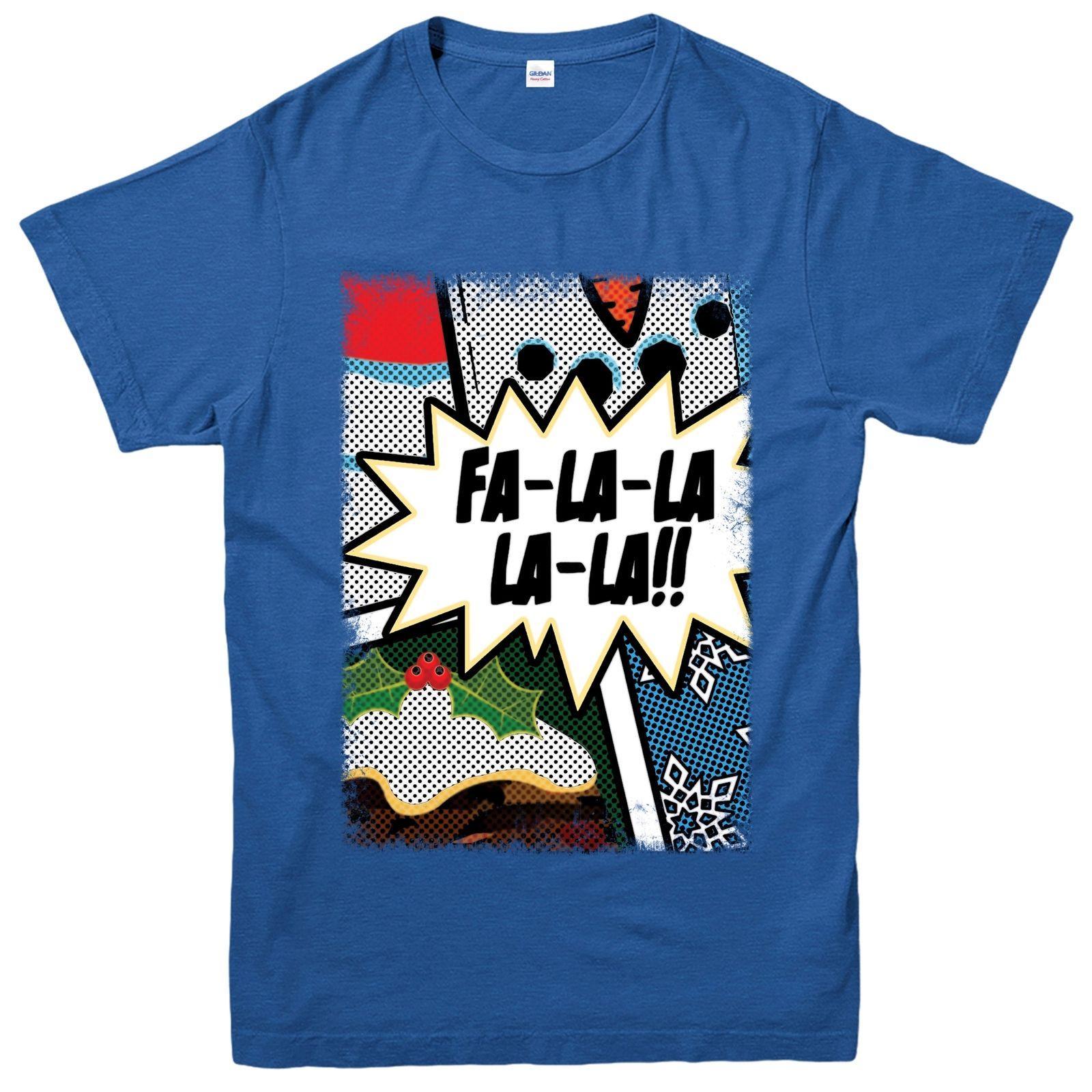Großhandel Weihnachten T Shirt, Fa La La La Weihnachtslied ...
