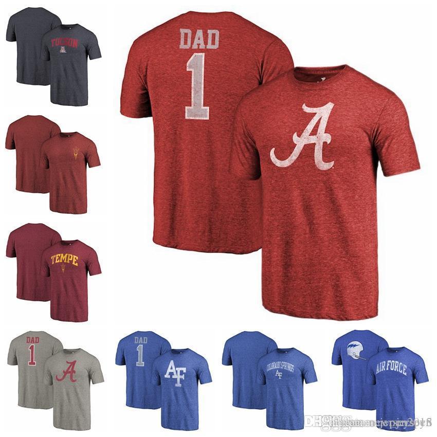 f70cc66f Fanatics Branded Alabama Crimson Tide Air Force Falcons Arizona State Sun  Devils Maroon Primary Logo Left Chest Distressed Tri-Blend T-Shirt Branded  Alabama ...