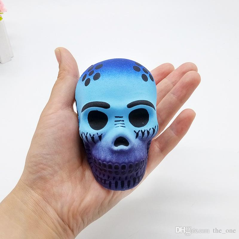 Skeleton Squeeze Toys Novelty Anti stress Funny Soft Squishy Slime toy Slow Rising Stress Relief for Adult Child Squishes Gift