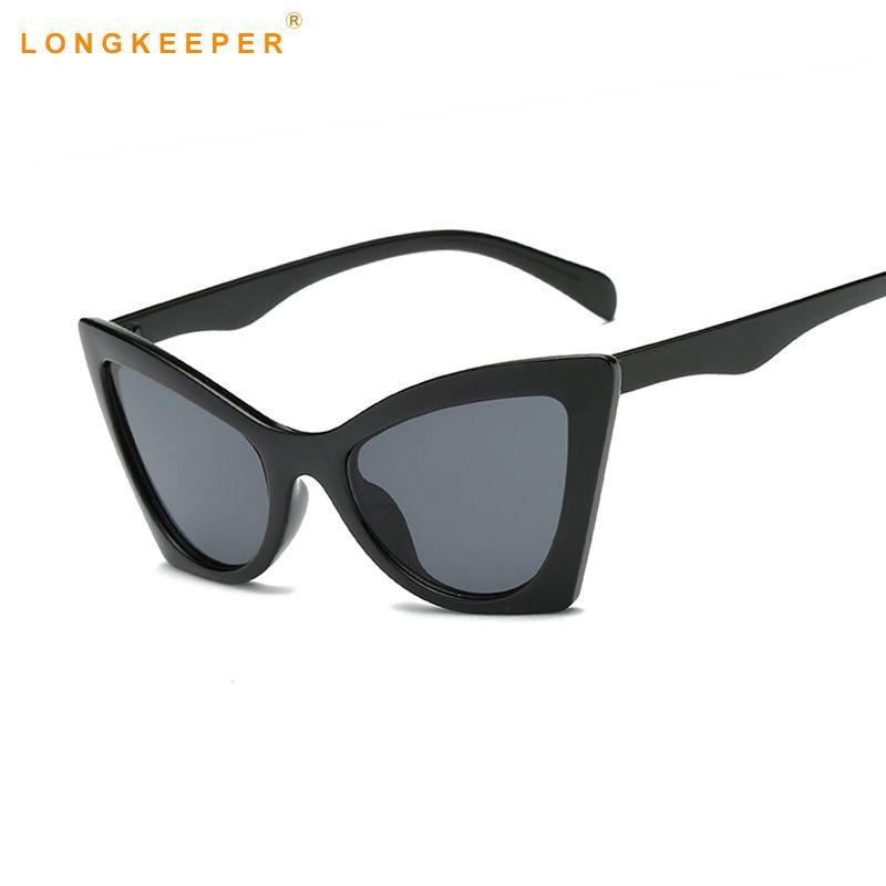 d6f36717d Vintage Cat Eye Sunglasses Women 2018 Sexy Stylish Sun Glasses Luxury Brand  Shades For Women Female Black Pink Sunglasses Cat Eye Sunglasses Round ...