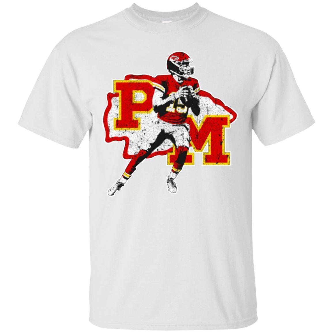 40bd9ff68 Patrick Mahomes T Shirt Kansas City Chiefs Men S Tee Shirt Short Sleeve S  3XL Funny Unisex Casual Tee Gift Top Online T Shirt Printing On T Shirts  From ...