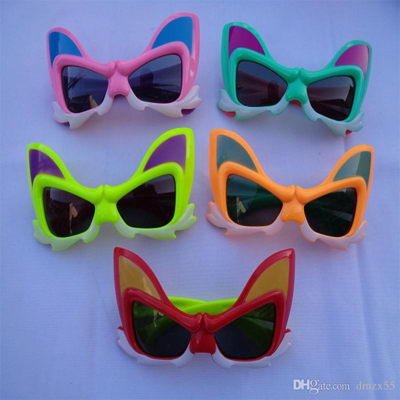 5f58aca93a2f6 2019 2018 New Child Bunny Rabbit Mask Sunglasses Cute Cartoon Glasses Men  And Women Kids Toys Glasses From Dmzx55