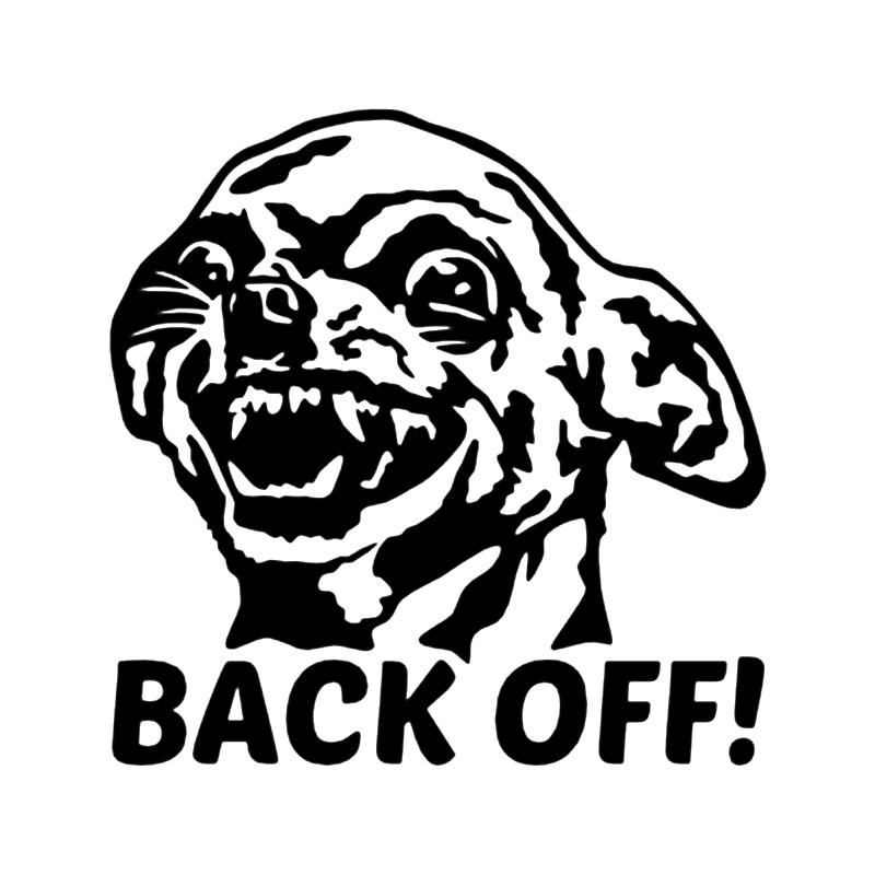 2019 chihuahua back off vinyl decal car sticker car window bumper get funny dog my ass car. Black Bedroom Furniture Sets. Home Design Ideas