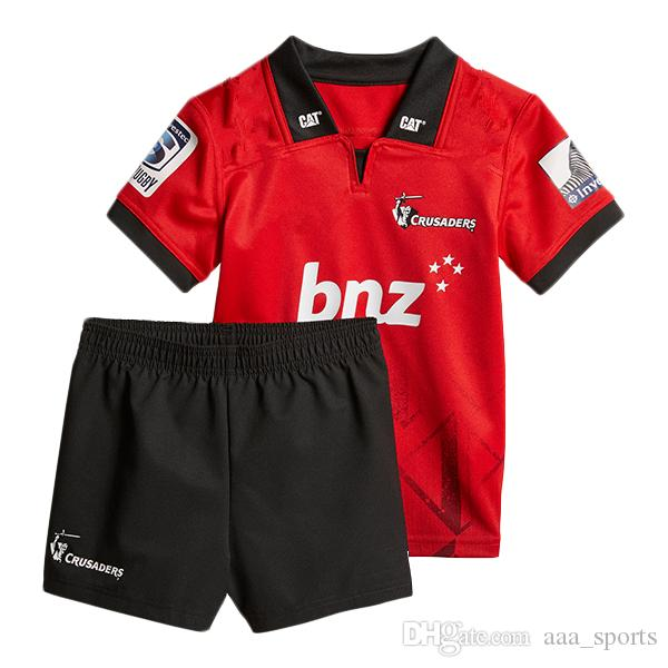 30bb34642ac 2019 2018 2019 Crusaders Super Rugby Kids Jersey National Rugby League Jersey  Shirt New Zealand Crusaders Child Kit Shirts S 3xl From Aaa_sports, ...