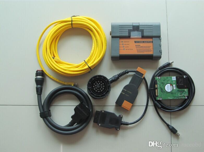 BMW ICOM ISIS Diagnostic Strumento di programmazione Diagnostica A2 B C 1000GB Software HDD Modalità esperta 95% Laptop