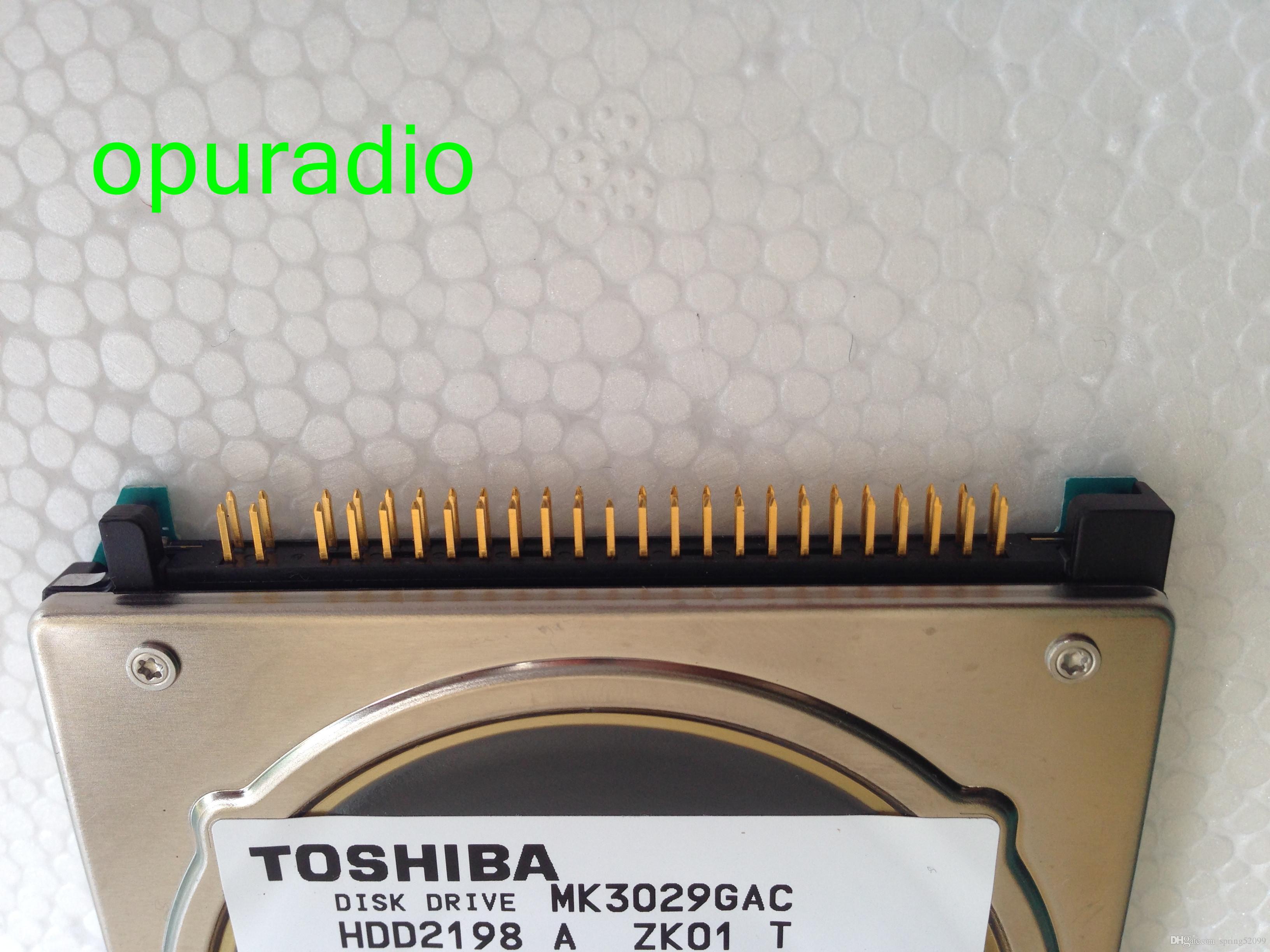 DISK DRIVE MK3029GAC hard disk 30GB HDD2198 DC+5V 1.1A 8455MB for Peugeot 407 C5 RT4 chrysler HDD alpine car navigation audio