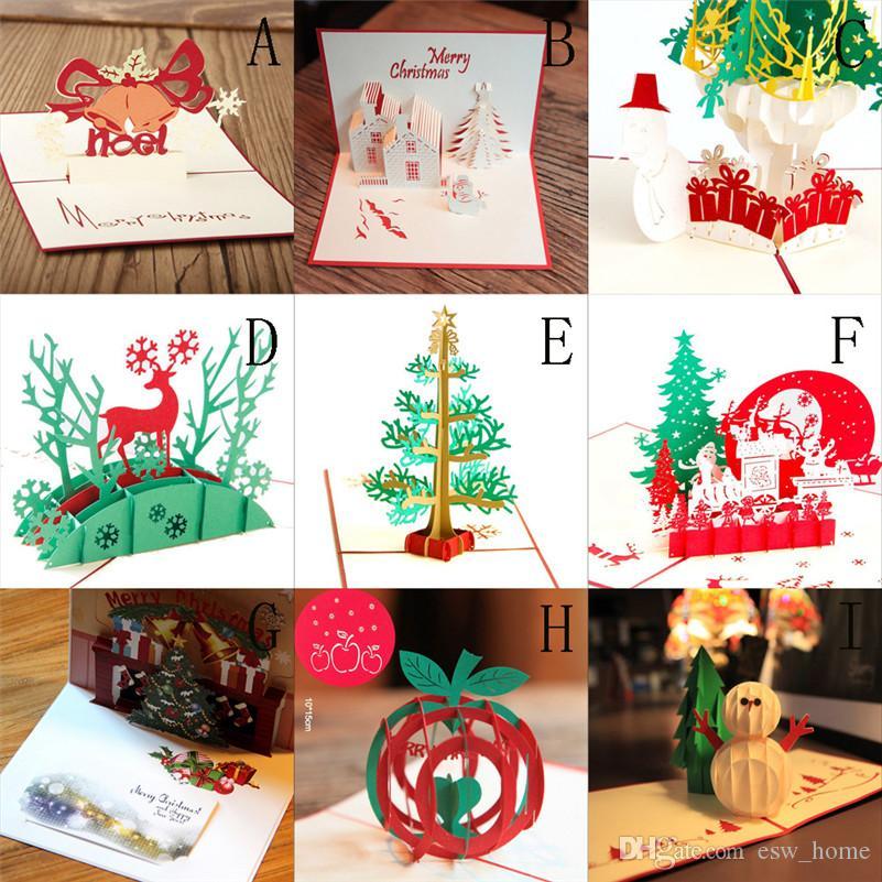 Acheter 3d Pop Up Cartes Valentin Amant Joyeux Anniversaire Joyeux