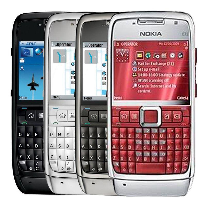 ad2e51566cc Celulares Baratos Nuevos Reacondicionado OriginalE71 Bar Teléfono Móvil  2.36 Pulgadas Pantalla 3.15MP Cámara Bluetooth GPS 3G Teléfono Barato DHL  Libre ...