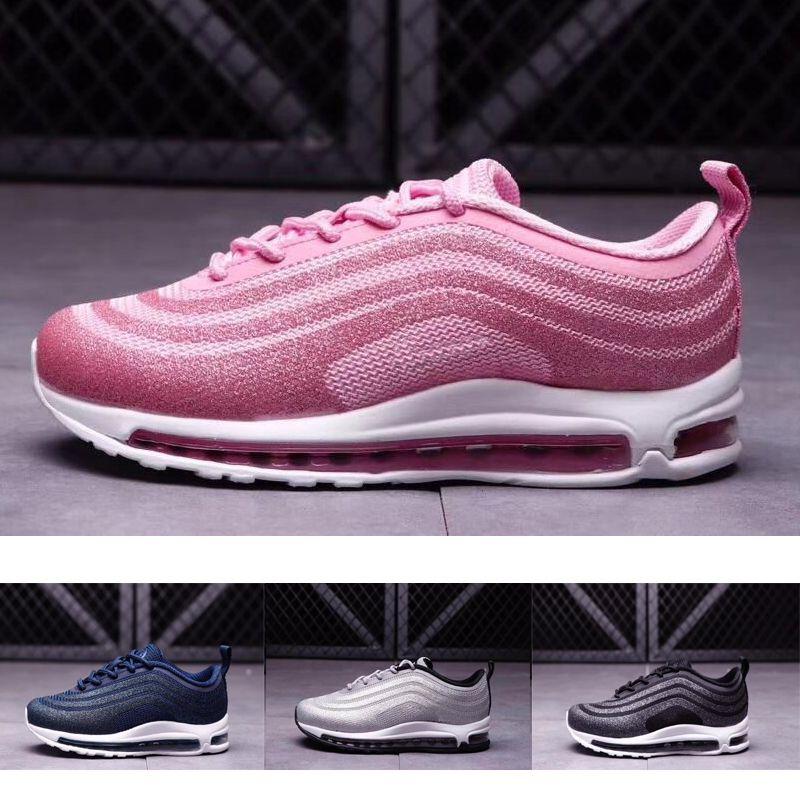 air max 97 rosa e azul